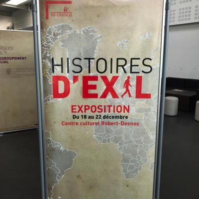 Salon Histoires d'Exil