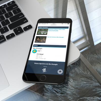 Site USRO Aviron iPhone