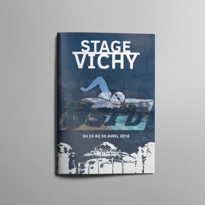 Couverture Livret A4 USRO Natation Stage Vichy