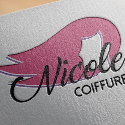 Logo Nicole Coiffure Paper