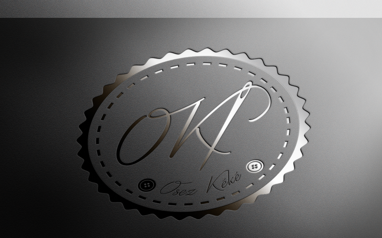 Logo Osez Kéké Gold Letterpress