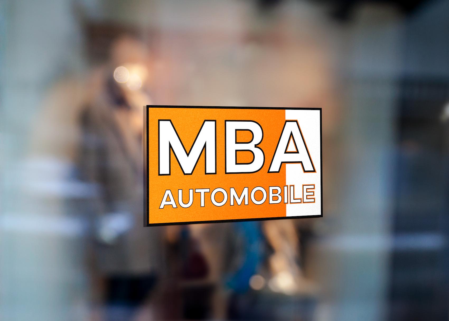 Logo MBA Automobile