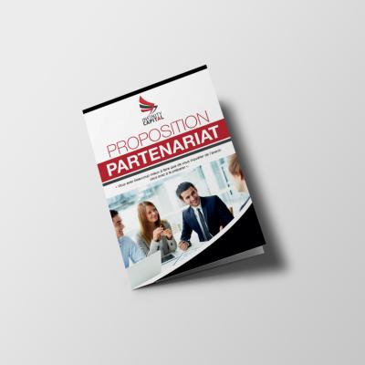 Plaquette Partenaires Couverture Infinity Capital
