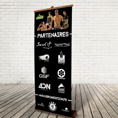 Roll Up Partenaires USRO Natation