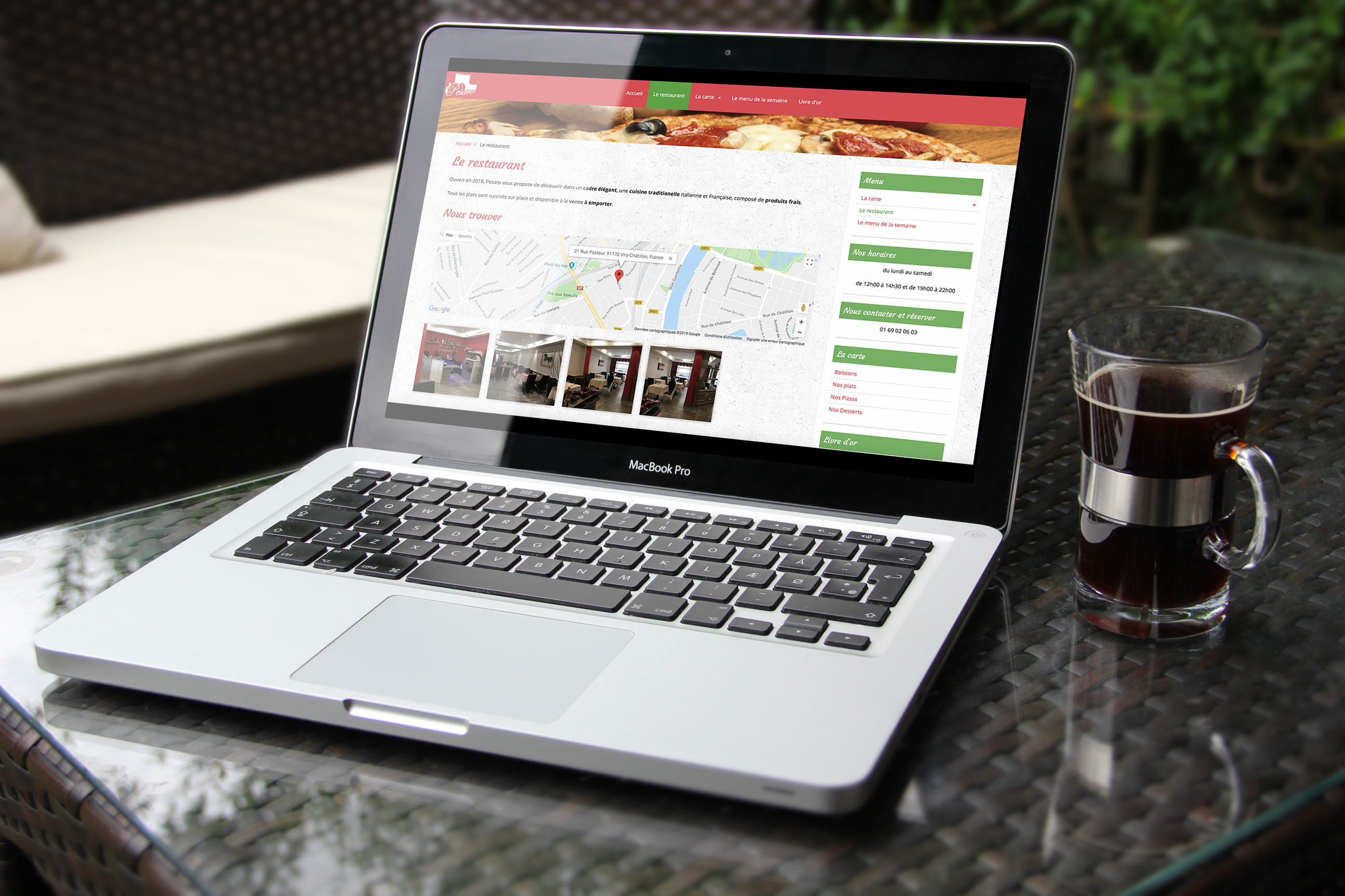 Site internet Pesaro