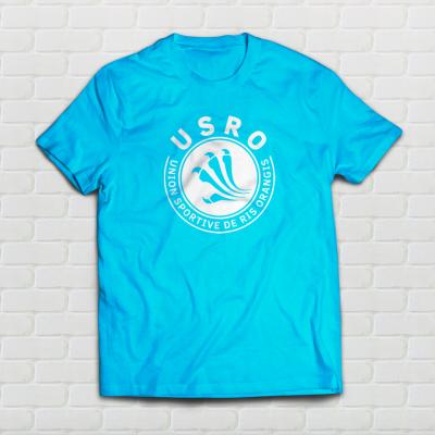 Tshirt Mesh Bleu