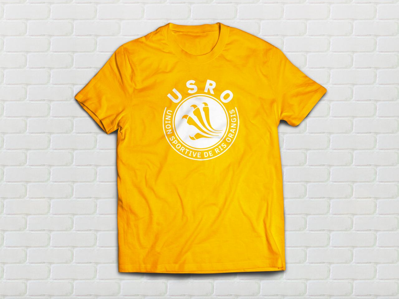 Tshirt Mesh Orange