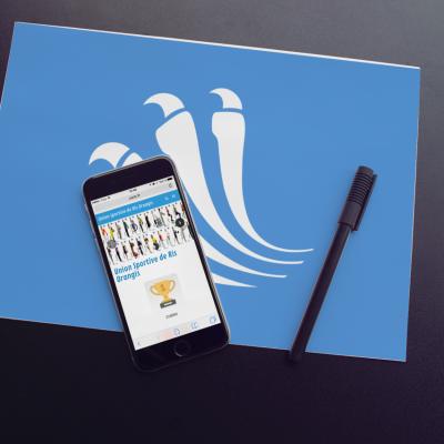 Union Sportive de Ris-Orangis iPhone Mobile