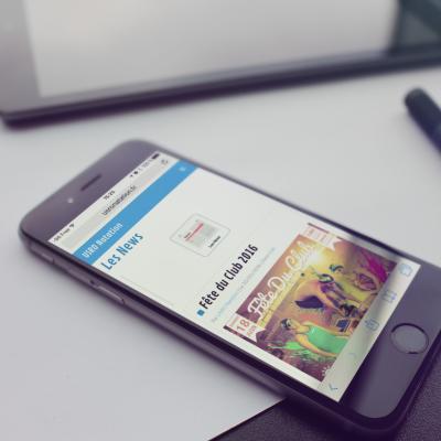 USRO Natation iPhone