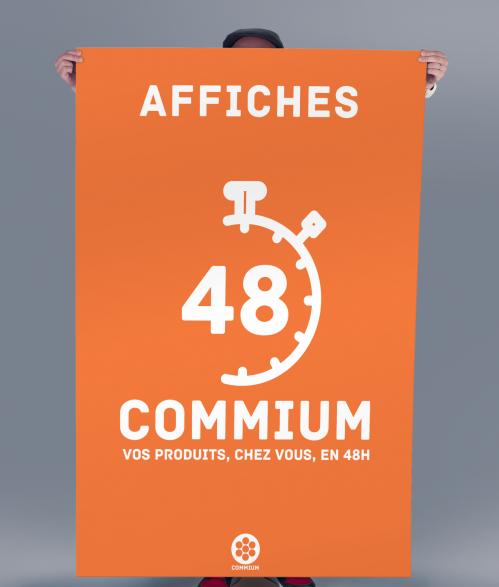 Affiche commium 48h