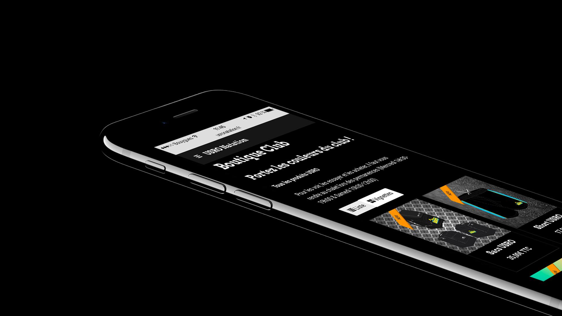 Nouveau site usro natation iphone jet black
